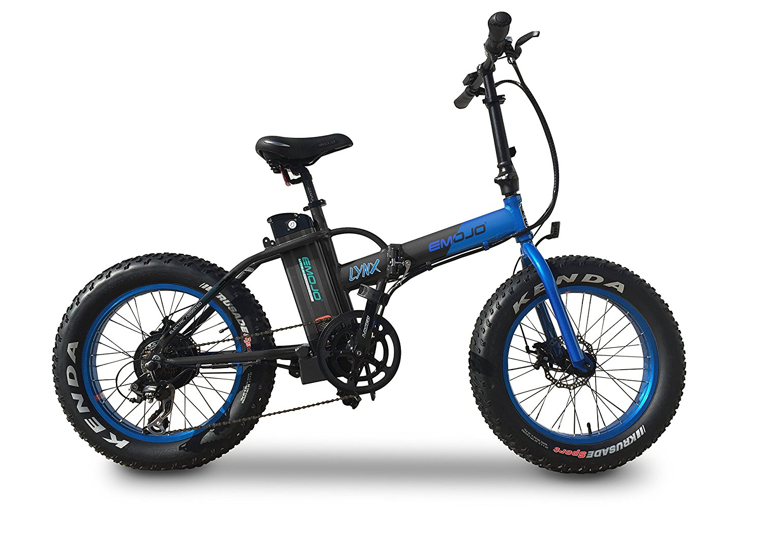 c1b07a2e024 Get Quotations · Fat Tire Folding Electric Mountain Bicycle Beach Snow  Bicycle 500W 36V Bafang Motor 10.4AH Lithium
