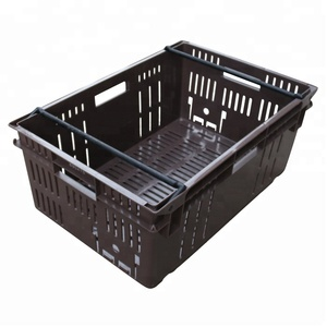 Nest Stackable Plastic Fruit Basket Kitchen Use Food Crates Cheap Turnover Box
