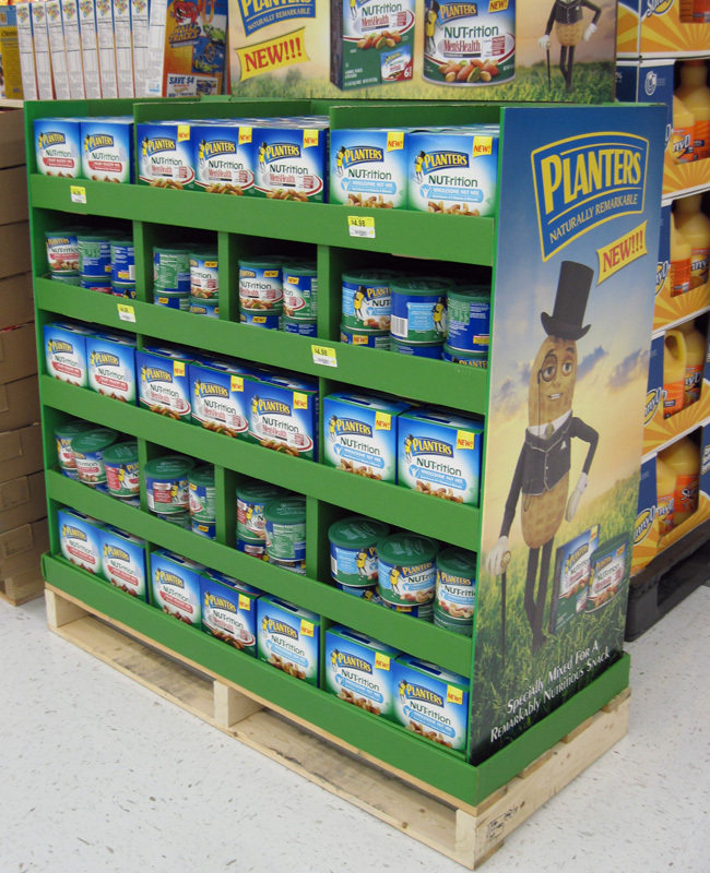 Walmart Supplier Supermarket Durable Cardboard Pallet