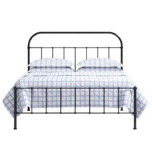 Simple style modern double metal bed frame king queen size designs bedroom furniture made in China