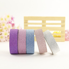 5pc decorative tape adhesive paper lot making art scotch floral sticky paper pink self adhesive sticker