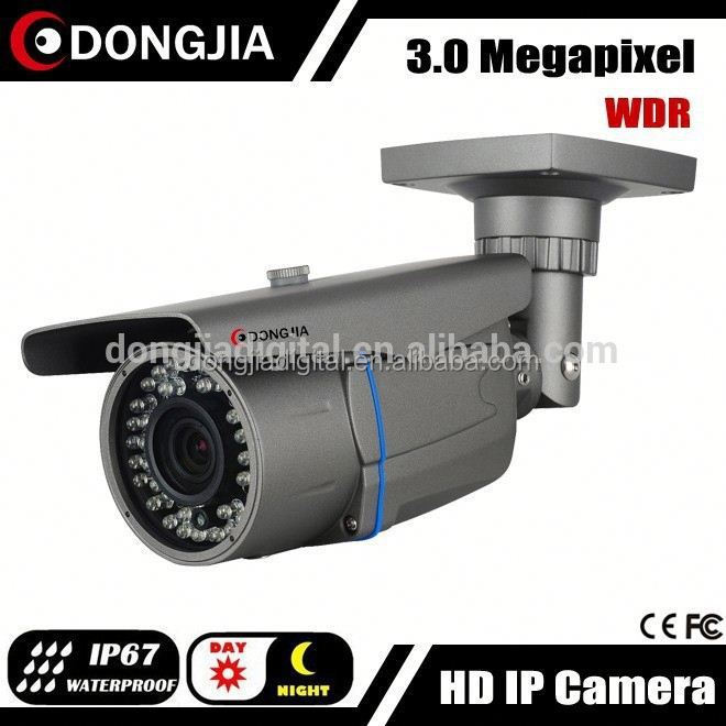 DONGJIA 2.8-12mm varifocal 3mp WDR best count people face detection ip camera