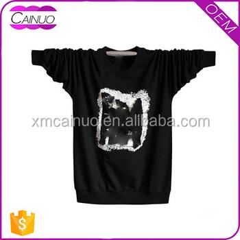 High Quality Silk Screen Printing T Shirt Longsleeve