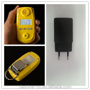 Portable toxic SO2 gas detecting analyzer with CITY so2 sensor, industrial flue gas monitor to detect the so2 gas