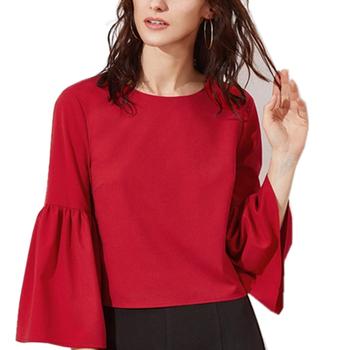 ladies red tops