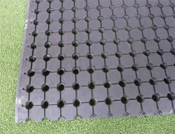 Geperforeerde Rubber Mat.Gebruikt Spoel Geperforeerde Landbouw Rubberen Mat Rubber Matten