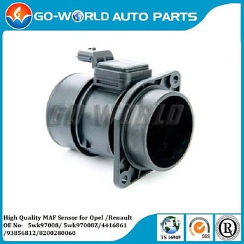 Oem Ref # 5wk97008/5wk97008z/4416861/93856812 For Renault Trafic 2 0 Dci  115 2 0 Dci 90 Parts Maf Mass Air Flow Sensor - Buy 5wk97005,For Renault