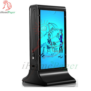 iPad Android mobile phone table menu holder power bank station cheap price good quality for Cafe Club Bank Hotel Hospital