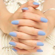 Искусственные ногти для детей, 24 шт., розовые стразы, для украшения ногтей, предварительно приклеивается, для маленьких девочек(Китай)