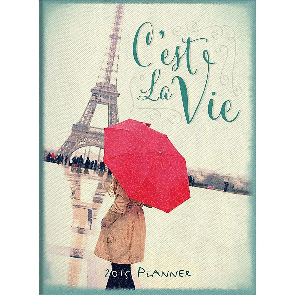 2015 C'est La Vie Weekly Planner Orange Circle Studios
