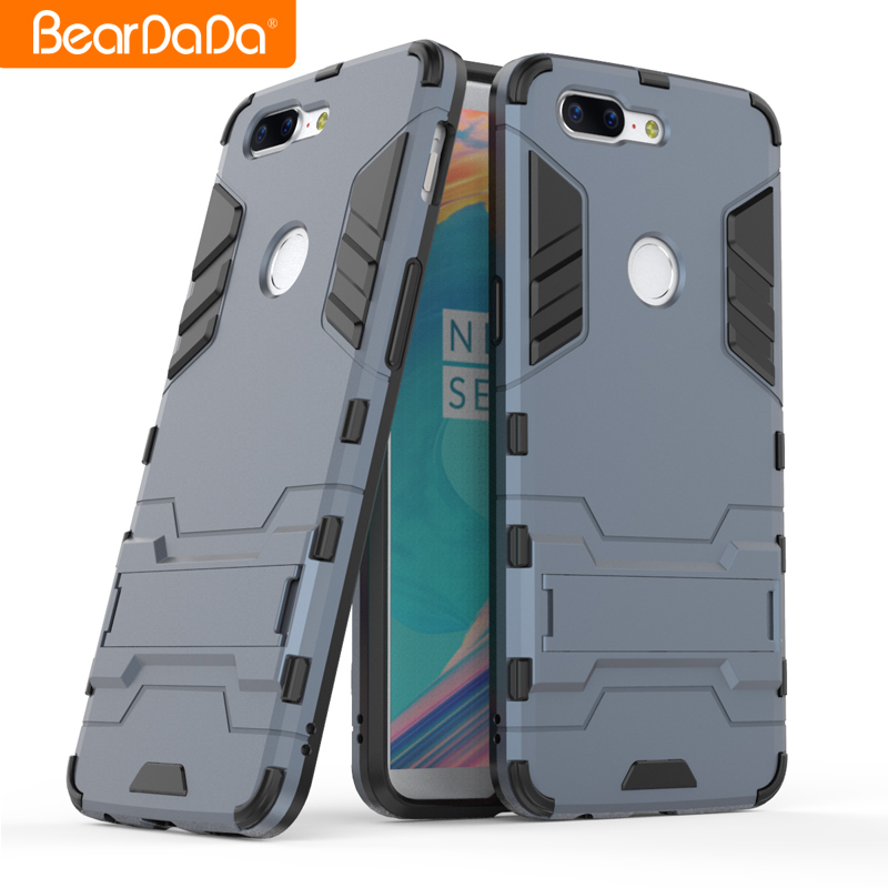 Shockproof kickstand tpu pc for one plus 5 case cover,for oneplus 5t back cover фото