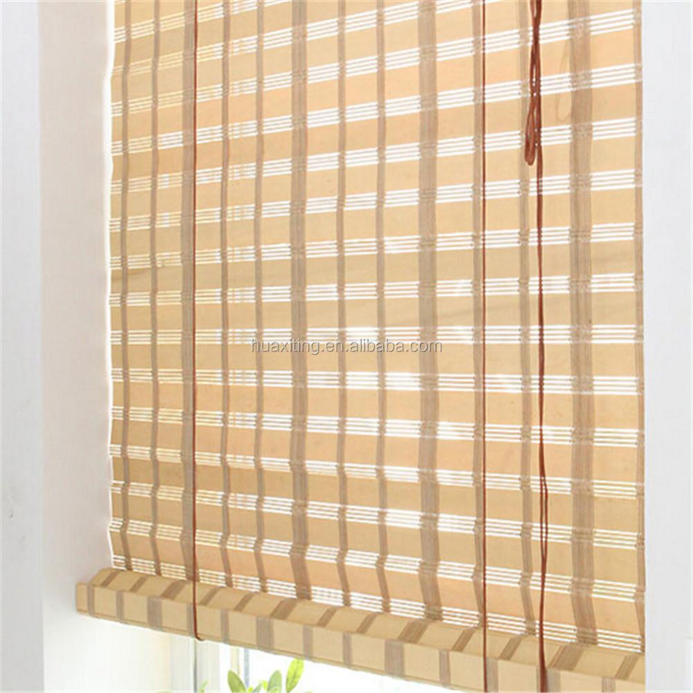 Nature Bamboo Salt Door Curtains