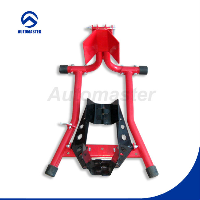 Adjustable Paddock Stand Wheel Chock for Motorcycle