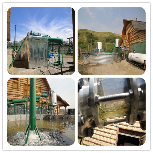 Black engine oil recycling and decolorizing equipment with Bleaching earth