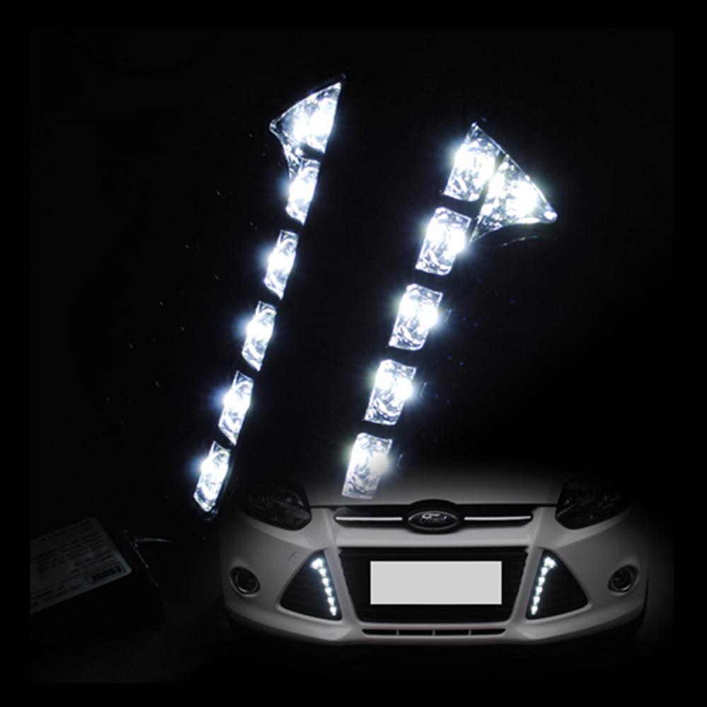 car drl daytime running lights 12v led drl daytime running. Black Bedroom Furniture Sets. Home Design Ideas
