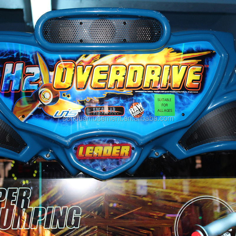 Water Boat Racing Arcade video Games H2 overdrive Car Racing Game Machine