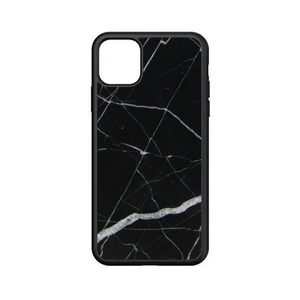 For iPhone 11 Luxury Real Marble Shockproof TPU Phone Case for 2019 New iPhone XI