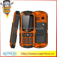 LM128 2.0 inch QCIF Display MTK6250D 1700mAh long life battery waterproof dustproof and shockproof mobile phone