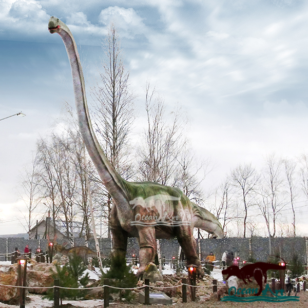OAJ 8615 Amusement park realistic mechanical dinosaur replica
