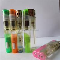 Plastic Electronic Led Cigarette Butane Lighter Gas Refill