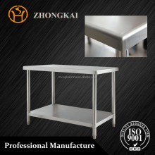 restaurant working tables/stainless steel prep table stainless steel worktable