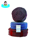 Scrub dish washing nylon scouring sponge cloth,on-scratch Dish Washing Mesh Scrub Pad Sponge Scourer Scrubber in roll