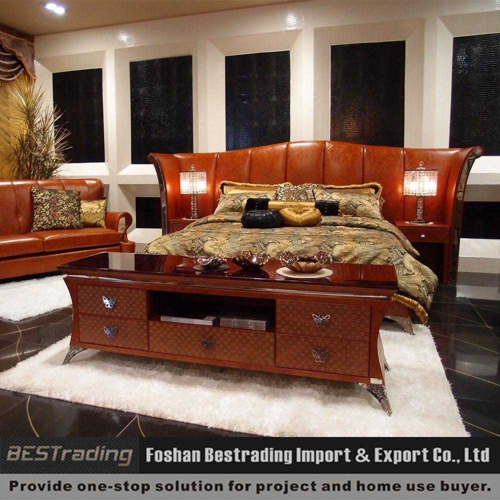 Latest Design 2015 Double King Size Luxury Bedroom Sets