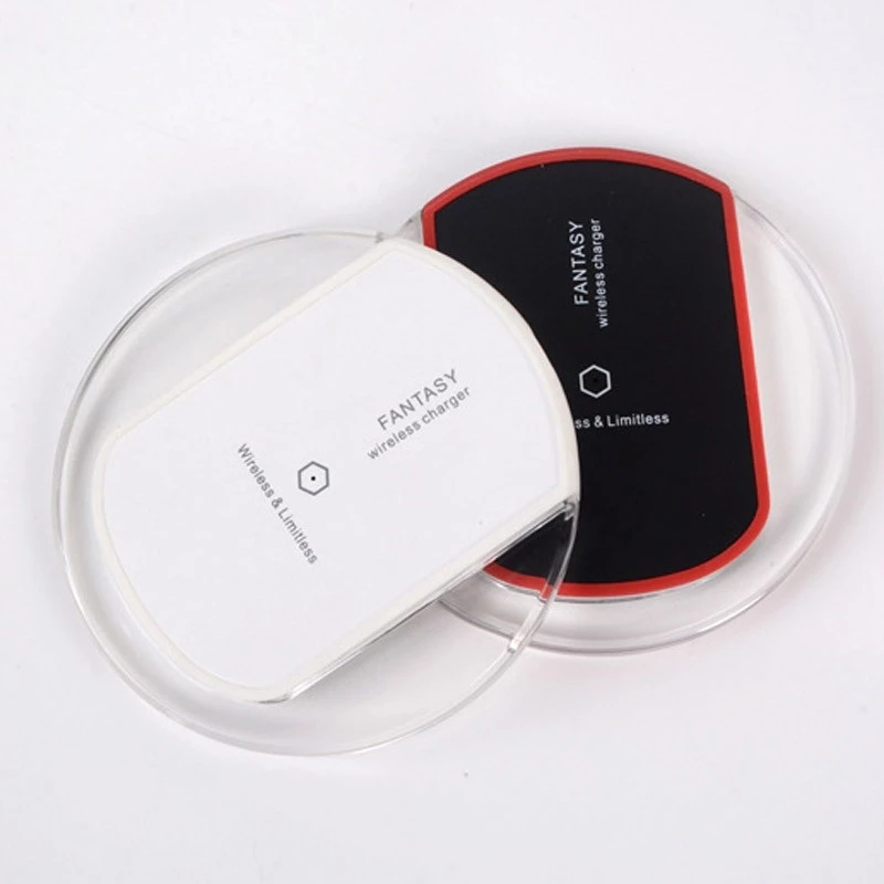 New Universal Qi Wireless Charger Dock Charging Pad Wireless Adapter For Mobile Phone