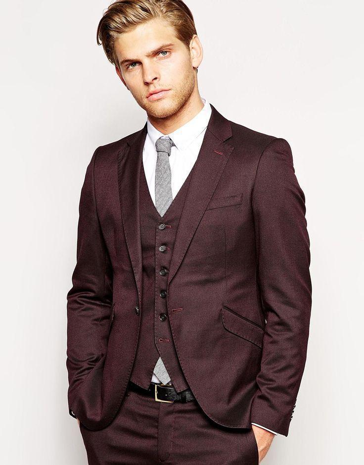 Burgundy Suit Jacket Mens - Go Suits
