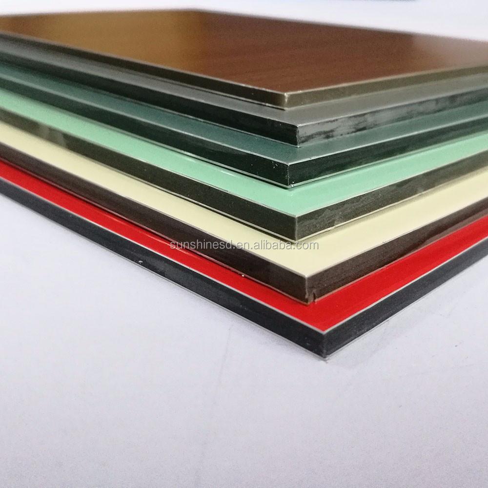 nuevos productos de china venta caliente aislamiento fachada panel compuesto de aluminio