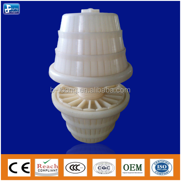 Filter Nozzles ABS NS90 for prolong time of gas liquid contact
