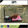 dogs cage for salein manufacturer price with black color PVC coated