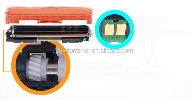 Factory supply, color toner CE310A CE311A CE312A CE313A for CP1025