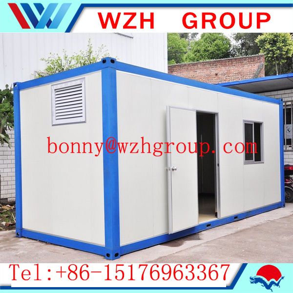20ft Modular container house and prefab kit house building