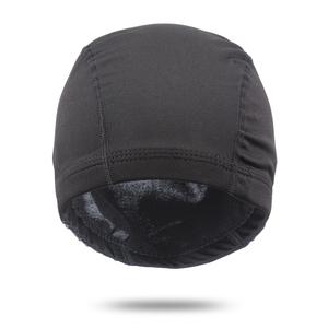 c44fefd3259 AliLeader Black Color Spandex Dome Wig Cap For Making Wigs