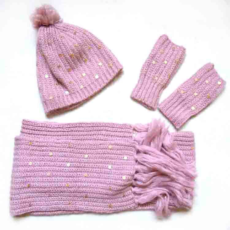 Pink Platinum Girls' Hat Glove Scarf 3pc Set- Flower. by Pink Platinum. $ - $ $ 5 $ 19 00 Prime. FREE Shipping on eligible orders. Some sizes/colors are Prime eligible. out of 5 stars Product Features Pom poms on hat and scarf. ABG Accessories Girls' Pom Hat and Scarf with Mittens and Popover Gloves 4 Piece Set.