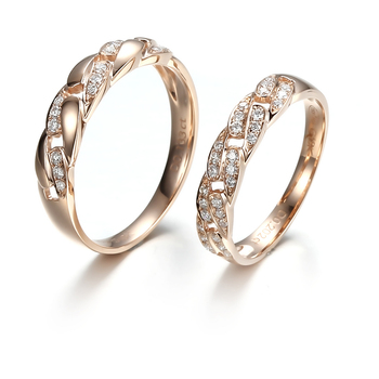 1 gram gold ring for men and women jewelry R0064 View 1 gram gold