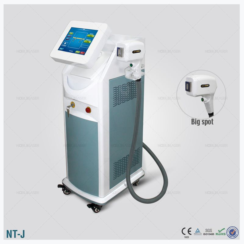 noblelaser NO PAIN ipl hair removal Chest