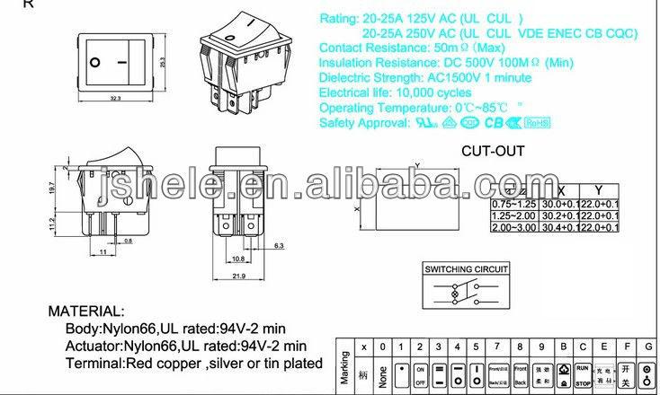 Rocker Switch Wiring Diagram Rocker Switches Wiring