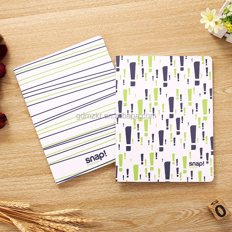 Fashion custom printing blank kraft eco recycled hardcove paper notebook