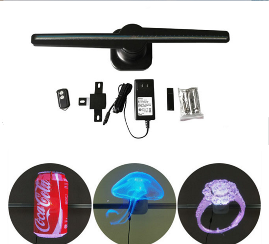 ultra clear advertising 3d wifi hologram led fan with programmable displaying