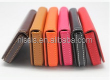 Magnetic PU Leather Card Case