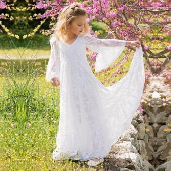 Vintage Blume Madchen Kleider Fur Bohmen Hochzeit Gunstige