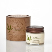 Private Label Natural Organic Hemp Seed Oil Facial Cream - Daily Anti-Wrinkle Anti-Aging Skin Care