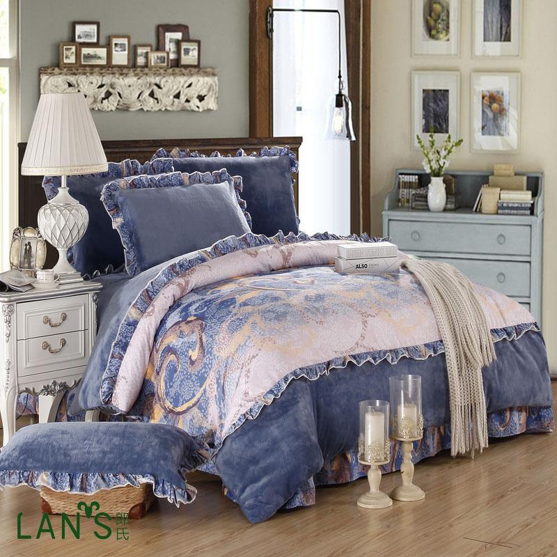 Online Get Cheap Royal Velvet Bedding Aliexpress Com