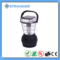 36 super bright white LEDs dynamo&solar camping lantern with hand crank