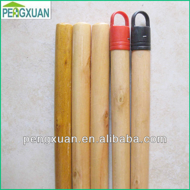 Wholesale wood handle stamps 120*2.2cm size pvc coated wood handle for wood handle garden tool