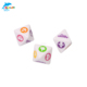 acrylic custom letter and animal dice for children dice 12mm or 14mm round corner dice