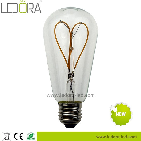 New products china suppliers ceiling lights led spiral filament