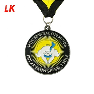 manufacture production make soft enamel 5k marathon running sports medal